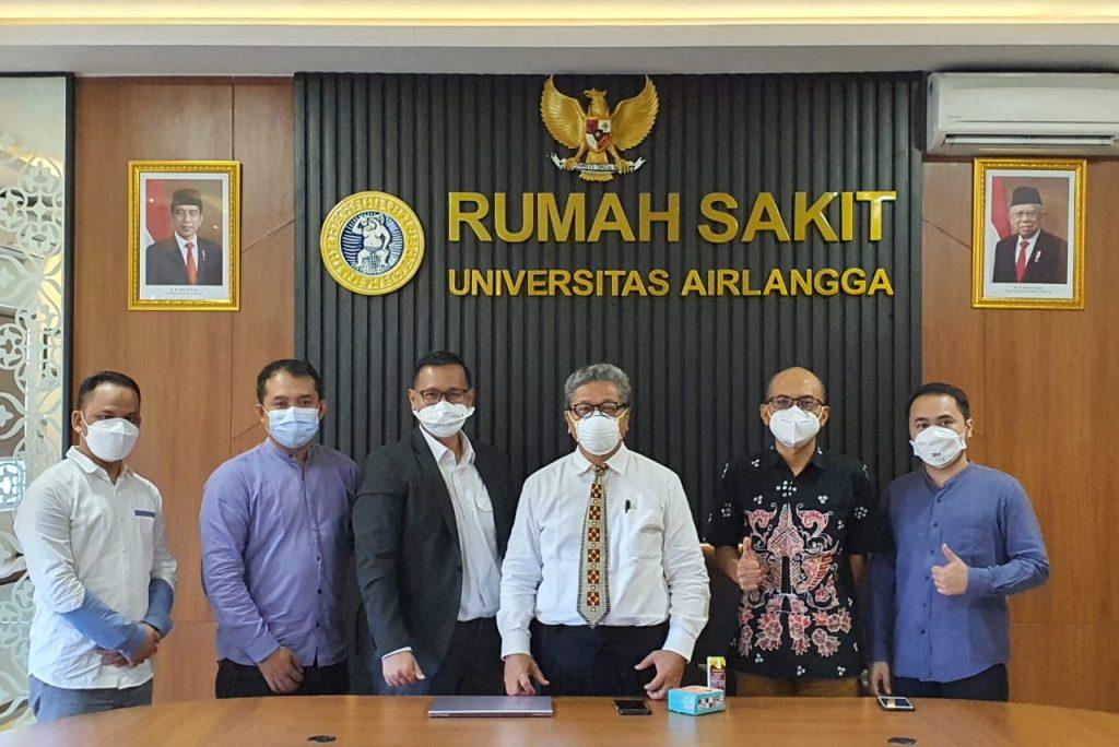 RS Unair Sambut Baik Surabaya Medical Tourism dan siap bekerjasama